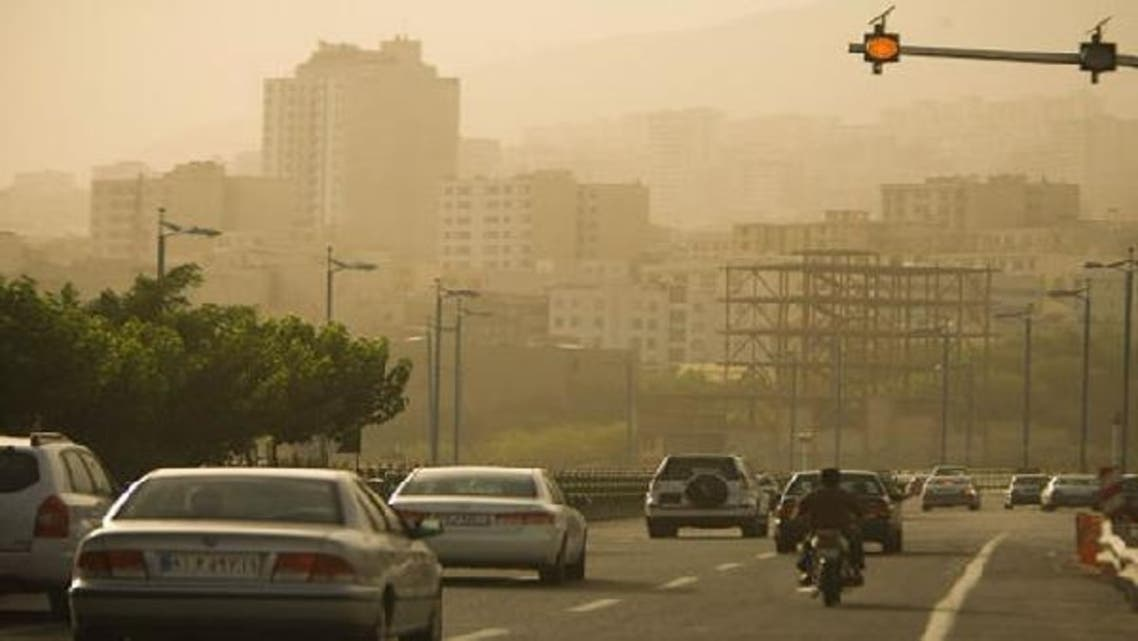 Levels of pollution caused mainly by vehicle fumes have risen in the past few days in Tehran and some other big cities. (Reuters)