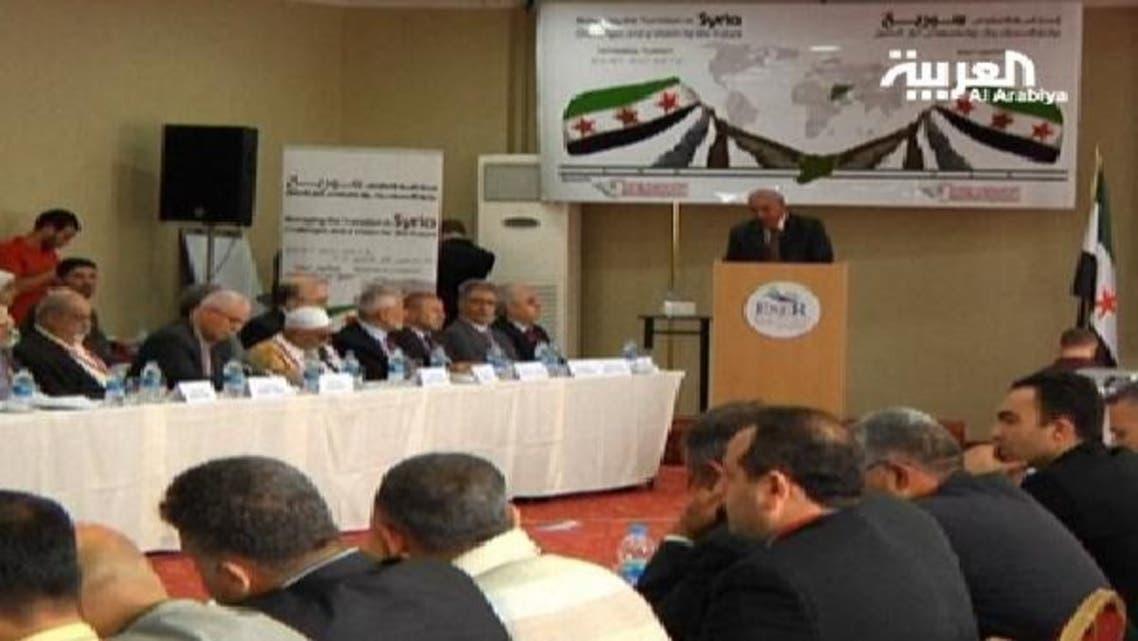 شامی اپوزیشن کے ماضی میں منعقدہ اجلاس: فائل فوٹو