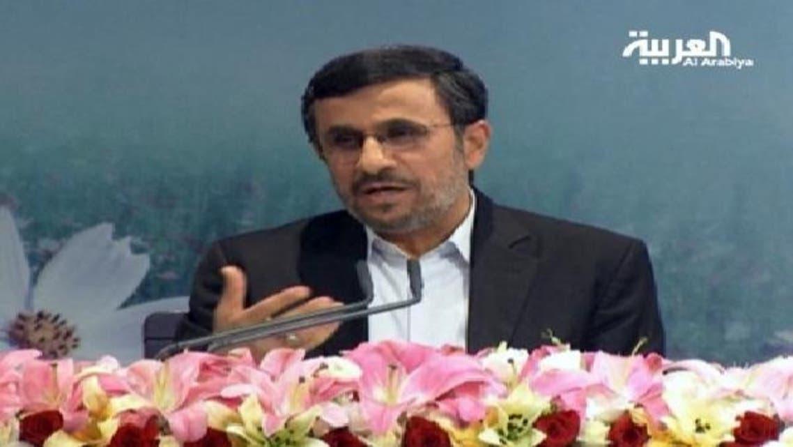 ایرانی صدر محمود احمدی نجاد