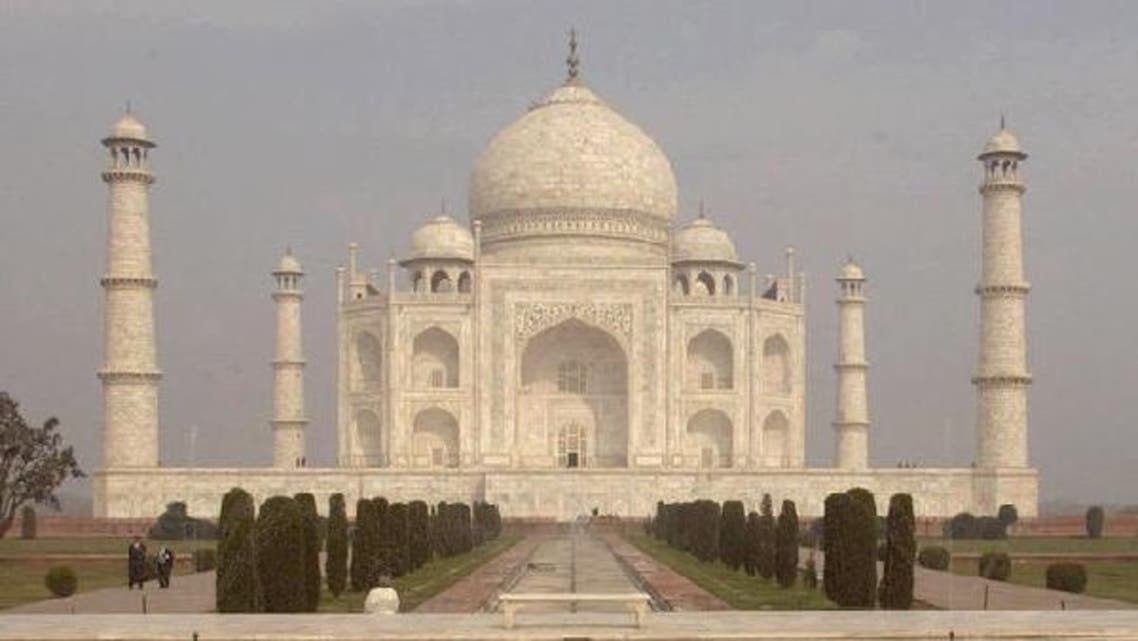 Taj Mahal, which became a UNESCO World Heritage Site in 1983, was built by a Mughal emperor in memory of his third wife. (Courtesy AP)