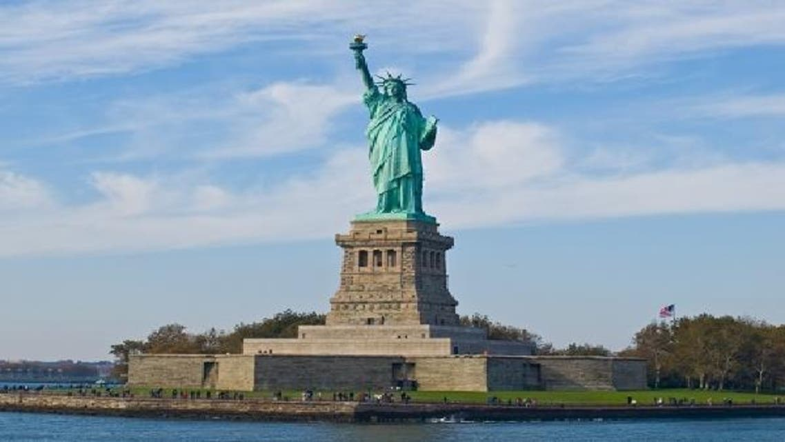 تمثال الحرية في مدينة نيويورك