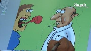 رسام كاريكاتير سعودي الرسامون التقليديون يتلاشون