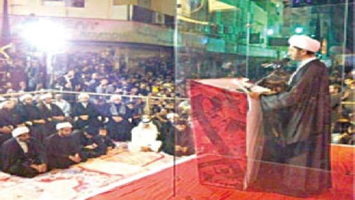 علی سلمان جعلی بلٹ پروف اسٹیج سے مخاطب ہیں