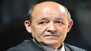 لودريان: نعمل مع الجزائر لتثبيت هدنة ليبيا والعودة للحوار