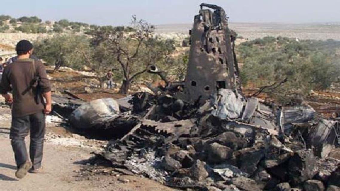 شام: باغیوں کے میزائلوں سے سرکاری فوج کے طیاروں پر حملے