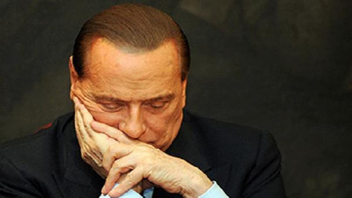 Italy's former prime minister Silvio Berlusconi has the right to appeal the ruling two more times before the sentence becomes definitive and will not be jailed unless the final appeal is upheld. (AFP)