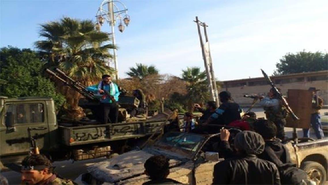 شامی باغیوں اور فوجیوں پر مشتمل جیش الحر