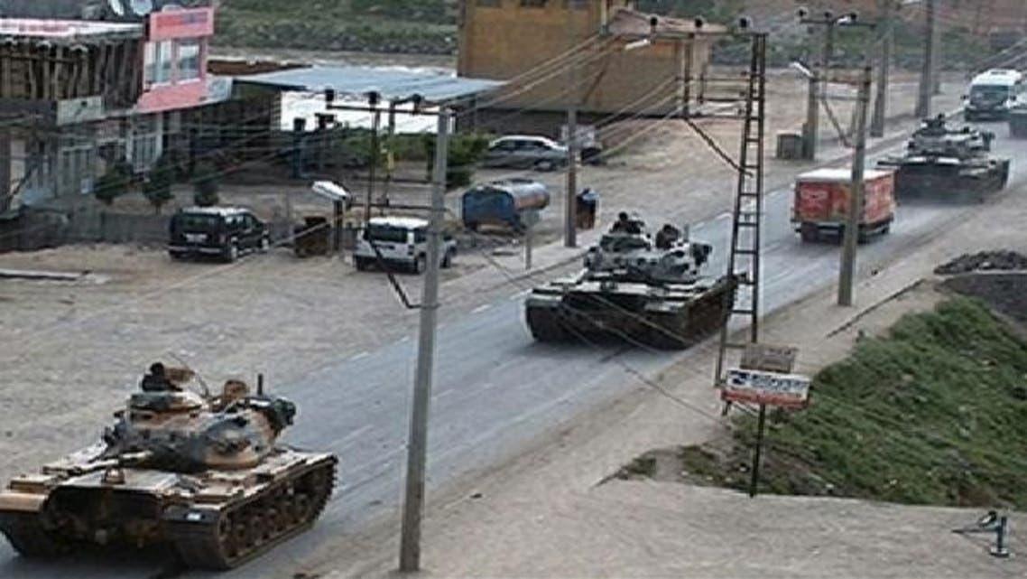 کرد فوج عراقی علاقے کرکوک کی سرحد پر تعینات