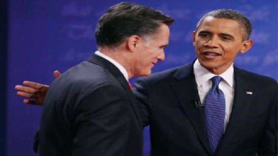 أوباما ورومني