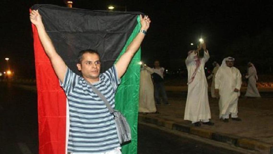 Protesters demonstrate against proposed changes to election laws in Kuwait City October 21, 2012. (AFP)