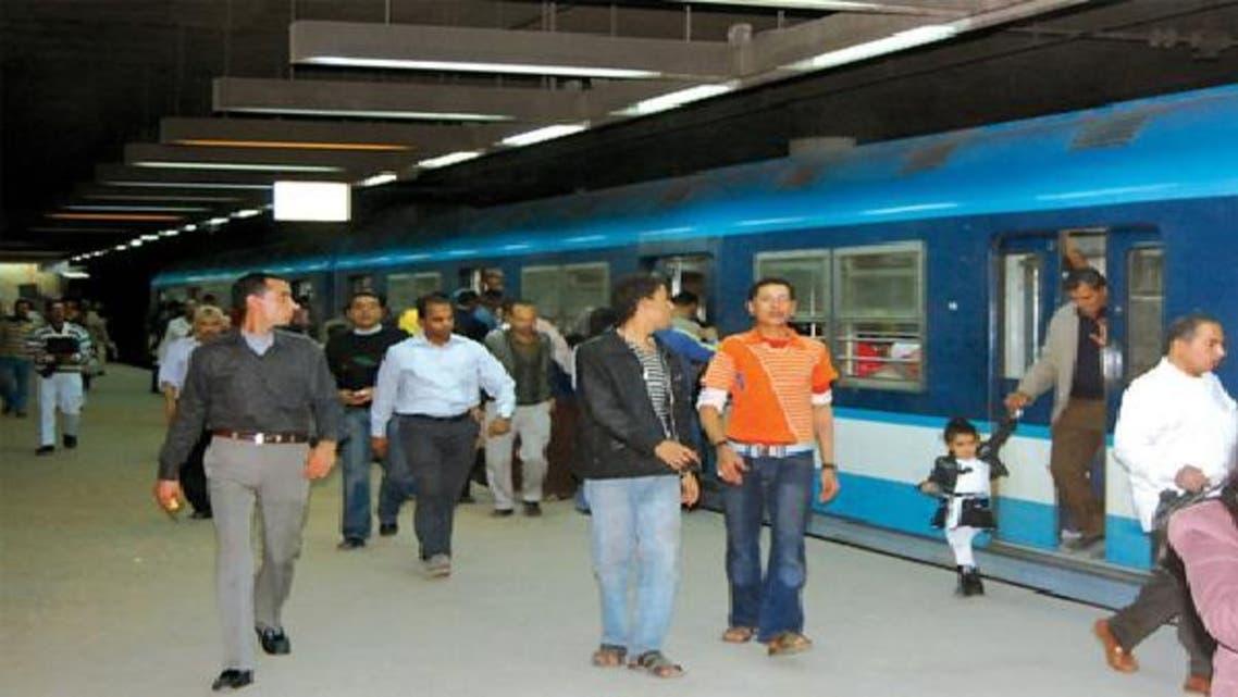 المترو في مصر أكثر وسائل المواصلات استخداماً