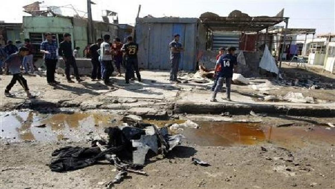 بغداد: فوجی بیس کے باہر خودکش کار بم دھماکا، 31 اہلکار ہلاک