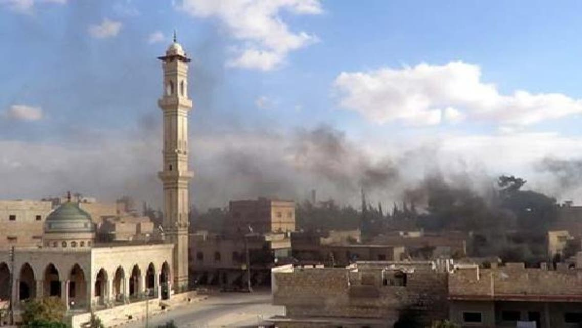 شامی فوج کی شہری علاقوں میں کلسٹر بم برسانے کی تردید