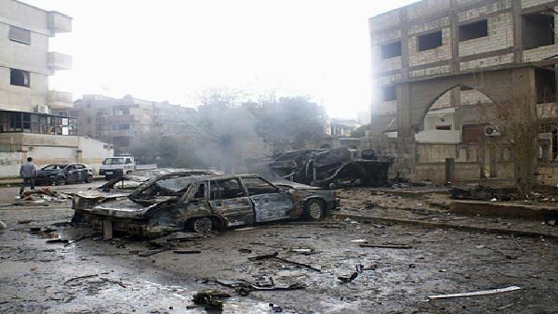 صورة أرشيفية لتفجير سابق