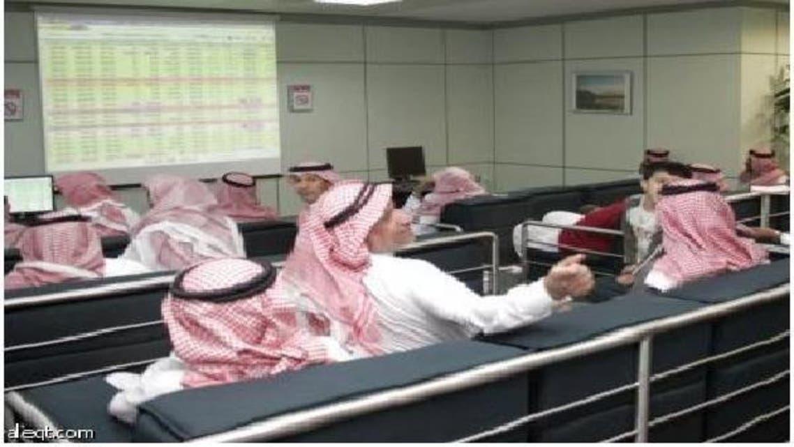 متداولون في سوق الأسهم السعودية