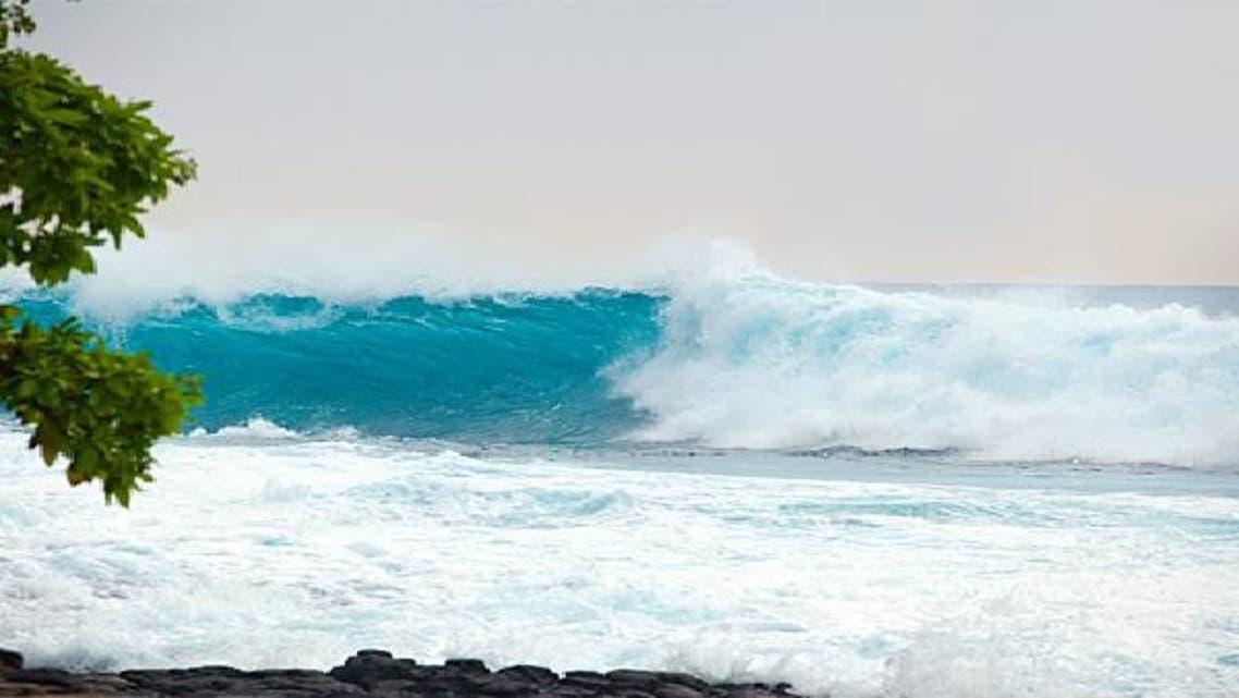 الأمواج على الشواطئ تؤدي إلى تقليل التوتر