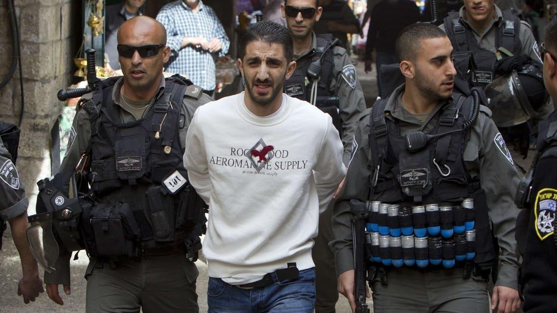 palestine abbas israeli chaos violence jails west bank arrest