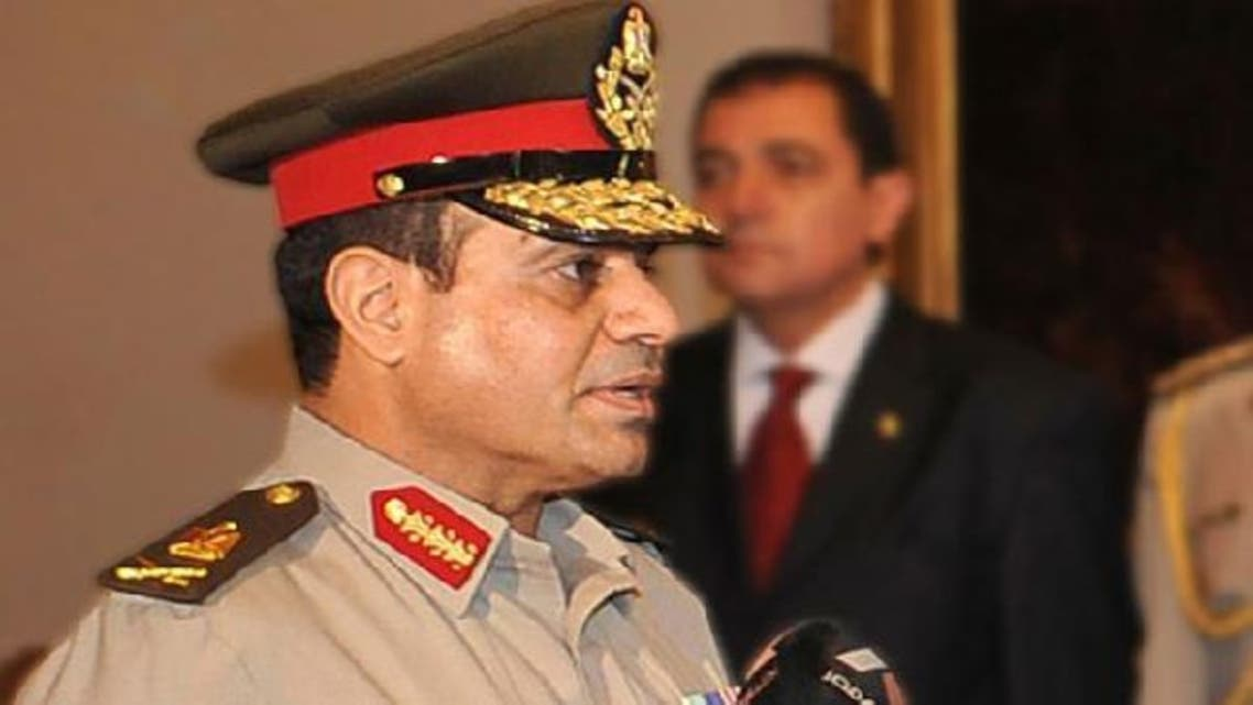 Egypt's commander-in-Chief General Abdel Fattah al-Sisi is under pressure to shake up a military which until recently had held the balance of power in Egypt for decades. (Reuters)