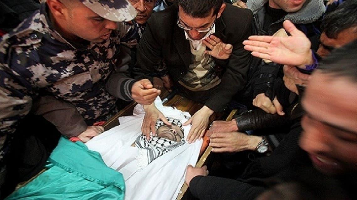 palestinian death arafaat torture israel jail funeral