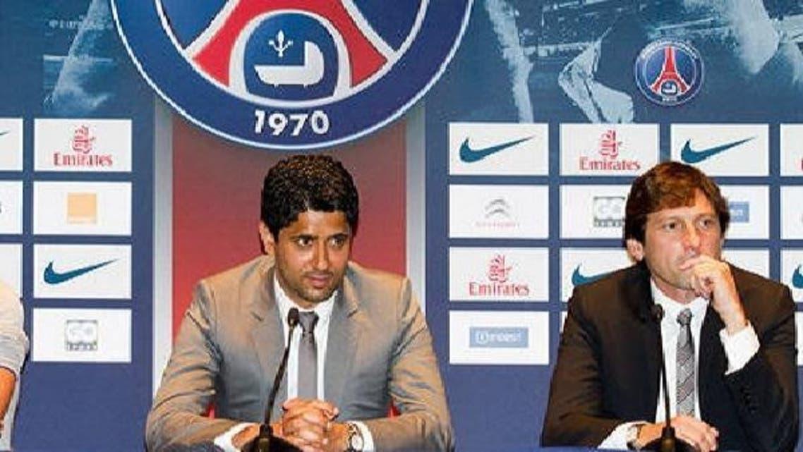 ناصر الخليفي رئيس نادي باريس سان جيرمان