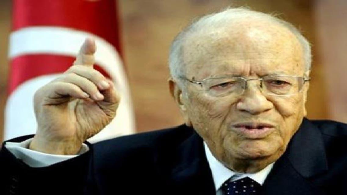 السبسي: شرعية الحكومة التونسية تسقط في 23 أكتوبر