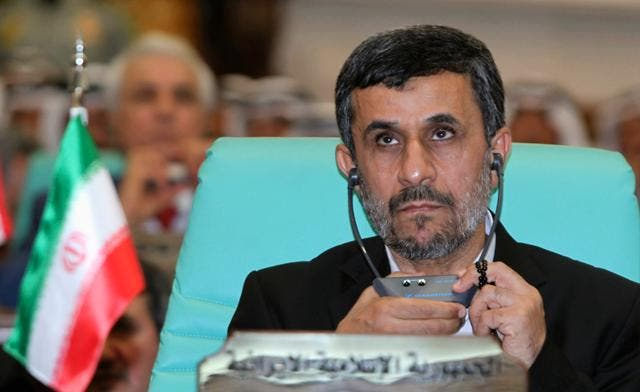Iranian President Mahmoud Ahmadinejad has used his U.N. speeches to defend Iran's nuclear program and to attack Israel. (Reuters)