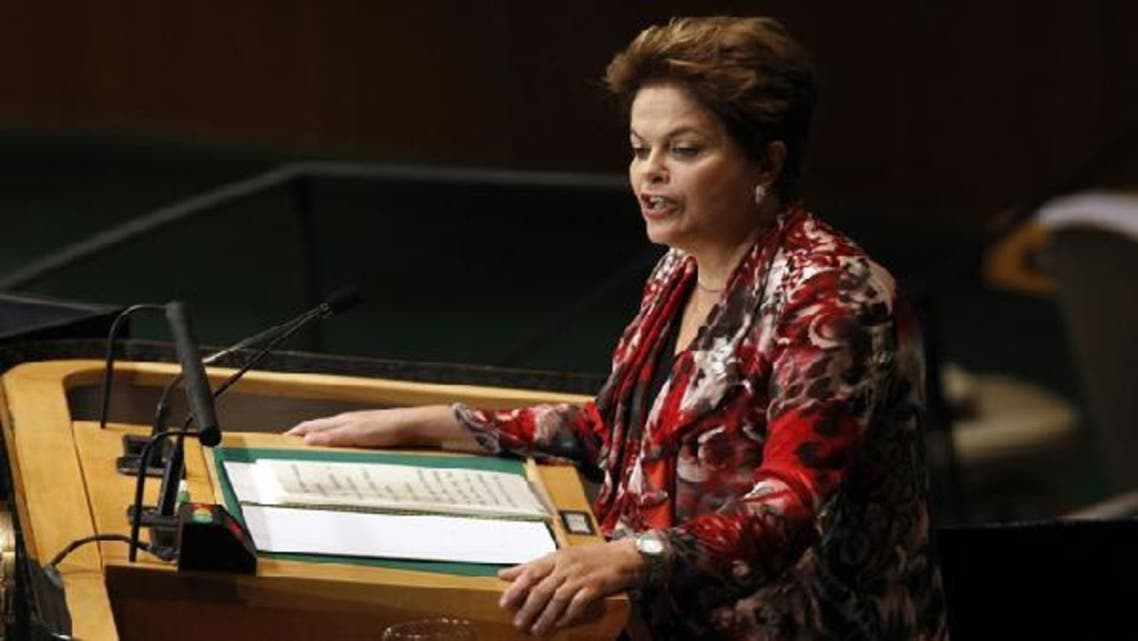 Brazilian President Dilma Rousseff addresses the 67th United Nations General Assembly at the U.N. Headquarters in New York. (Reuters)