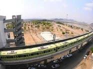 إنشاء أسوار مرتفعة لمنع افتراش الحجاج بالقرب من القطار