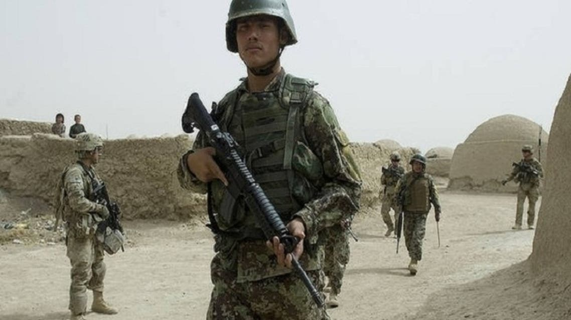The two boys were shot dead when they were mistaken for insurgents, NATO said, during an operation in the northwest of Uruzgan on Feb. 28. (AFP)