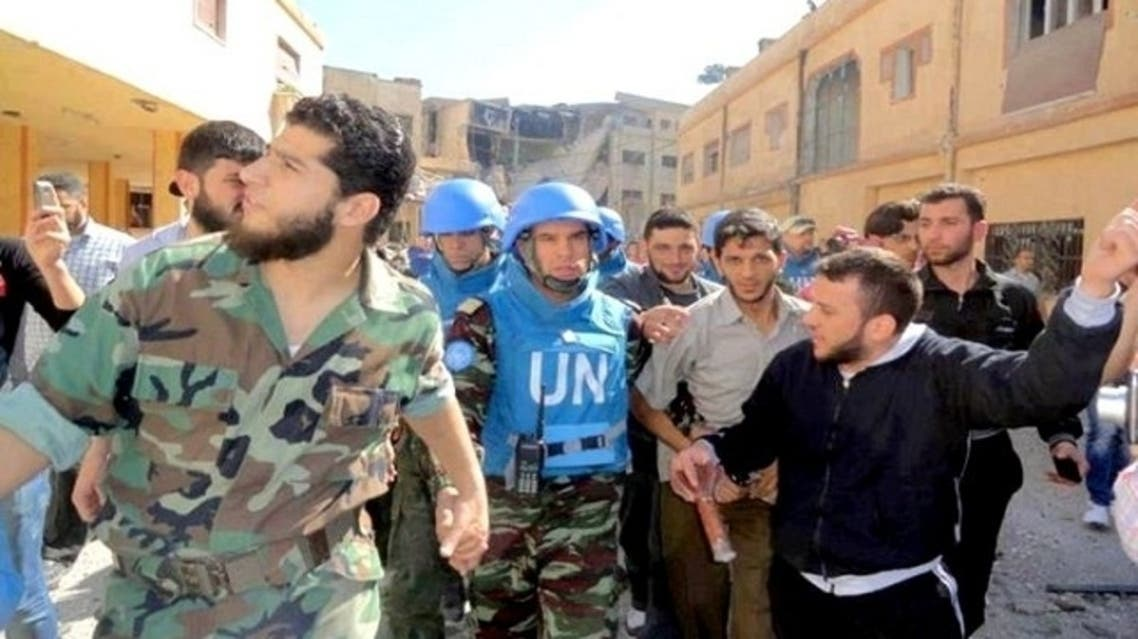 United Nations said it would conduct a major humanitarian operation in Syria, with its mission to the war-torn country.(AFP)