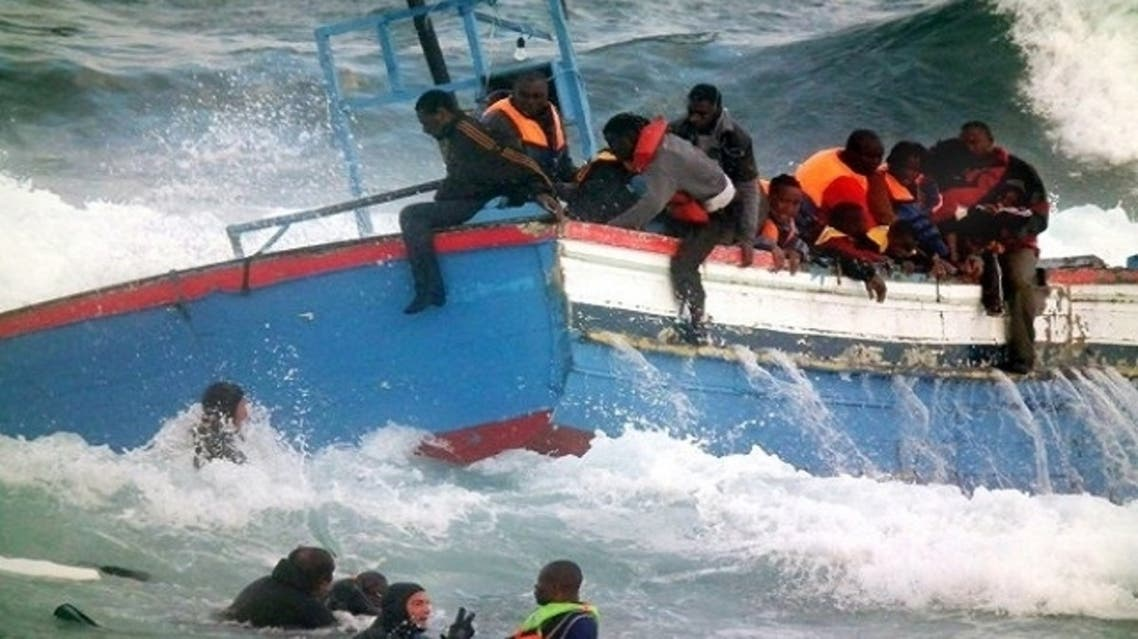 Two people including a Moroccan rescuer died and two others remained missing after a ship carrying illegal immigrants overturned in the Strait of Gibraltar. (Courtesy: Morocco World News)