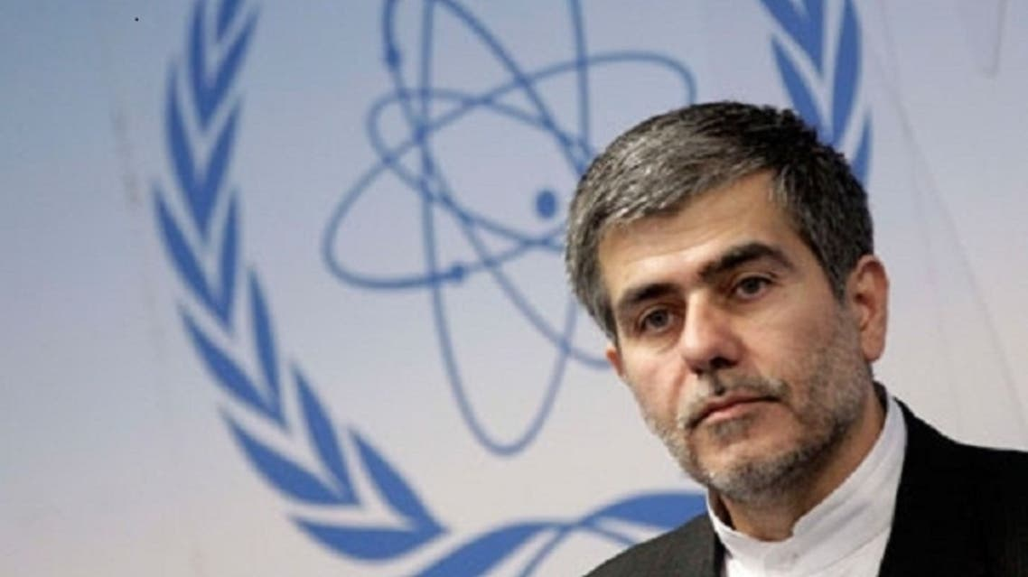 Iran's nuclear chief, Fereydoun Abbasi-Davani, at a news conference during the IAEA conference in Vienna. (Reuters)