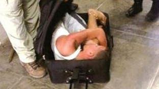 القبض على قاتل حاول الهروب من السجن في حقيبة صديقته