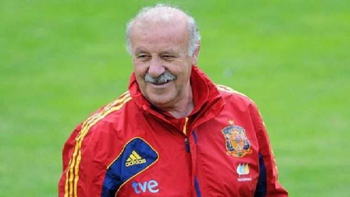 مدرب إسبانيا فيسنتي ديل بوسكي