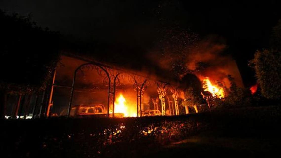 Tuesday's attack by armed men in the eastern city of Benghazi came amid a wave of protests in the Muslim world against a U.S.-made amateur Internet film deemed insulting to the Prophet Mohammed. (Reuters)