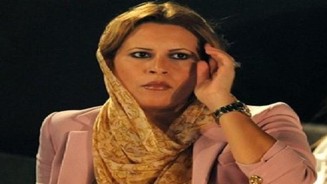 عائشة القذافي ناصرت المنتخب الجزائري ضد بلدها