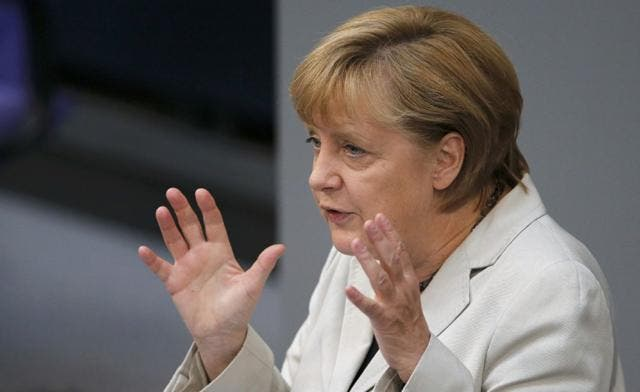 German Chancellor Angela Merkel expressed concern that the violence over the film would spread to other the Arab countries. (Reuters)
