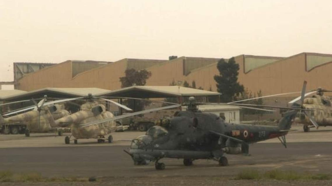 یک پایگاه هوایی در یمن