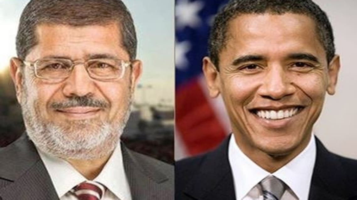 Egyptian President Mohammed Mursi and U.S. President Barack Obama spoke on Tuesday on the phone and it was unclear whether U.S. President invited Mursi to visit Washington. (Al Arabiya)
