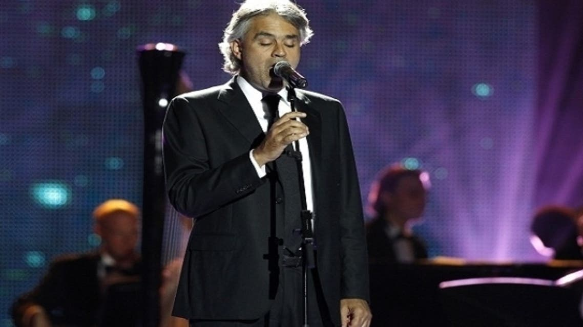 Flash Entertainment, the event organizers, said that Bocelli will perform to a fully seated open air arena accompanied by an orchestra.(Reuters)