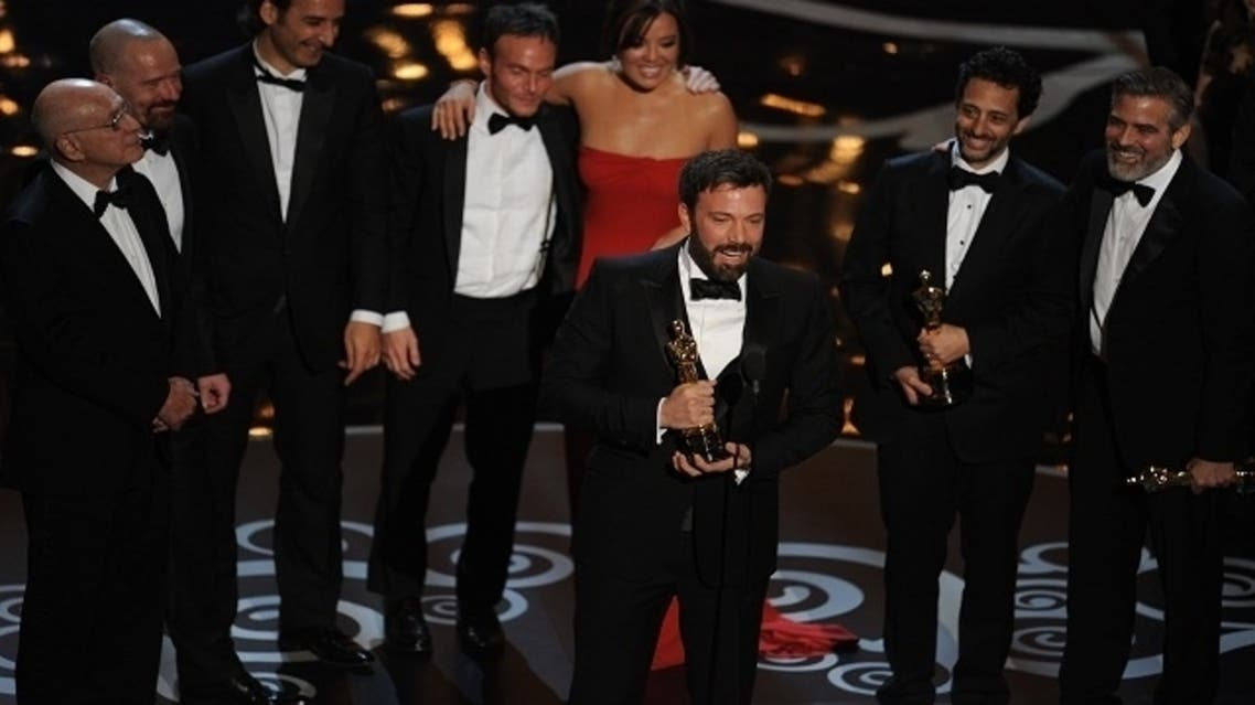 Argo director Ben Affleck accepts the Oscar for Best Movie onstage at the 85th Annual Academy Awards on Feb. 24, 2013 in Hollywood, California. (AFP)