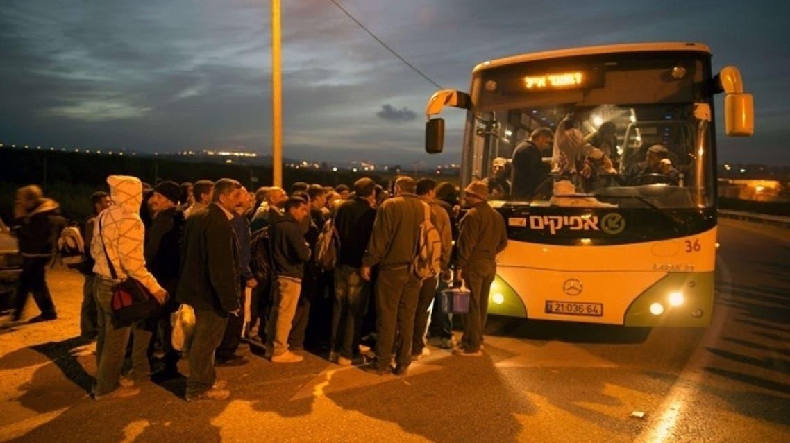palestine bus israel arson vandals