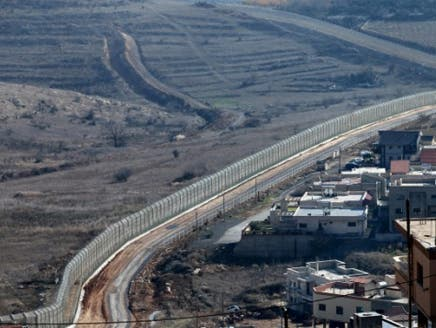 """الحدود الإسرائيلية السورية """"أرشيفية"""""""