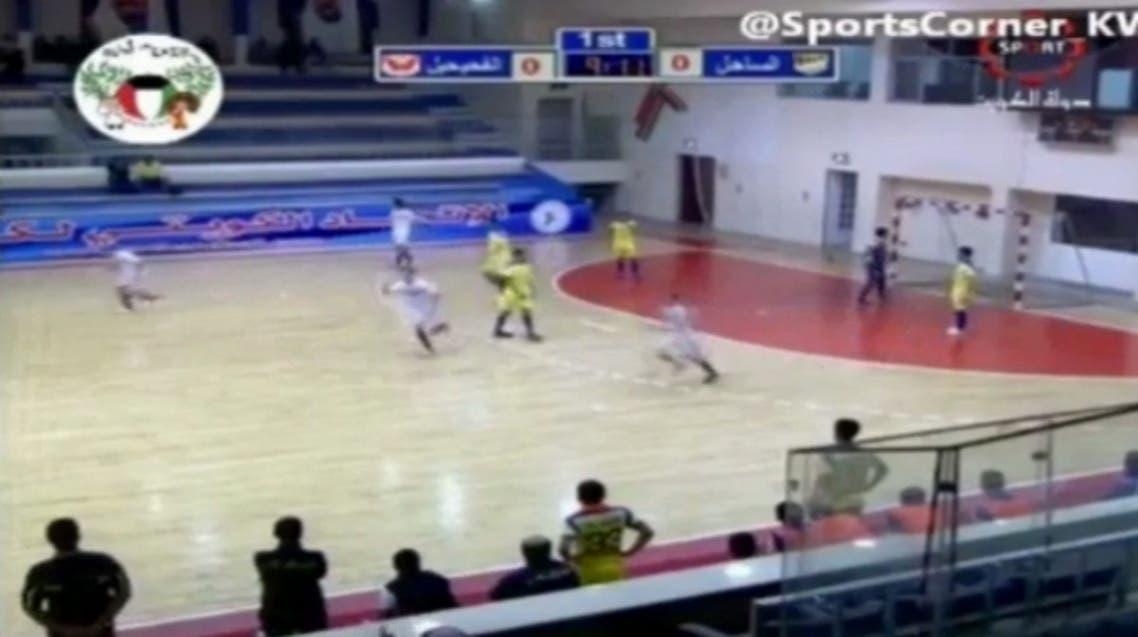 Al Fahaihil player, Sameh Samih