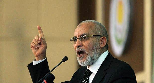 المرشد العام للإخوان المسلمين في مصر محمد بديع