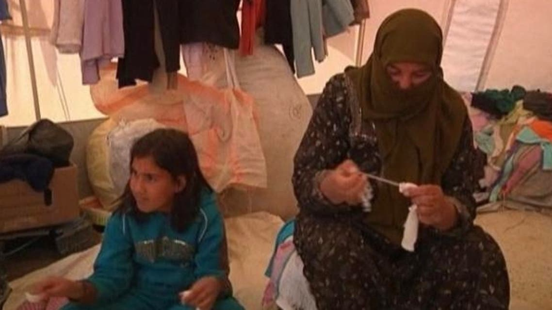 Syrian women living in Jordan's Zaatari camp mark another Women's Day as the civil war back home shows no sign of stopping. (Reuters)
