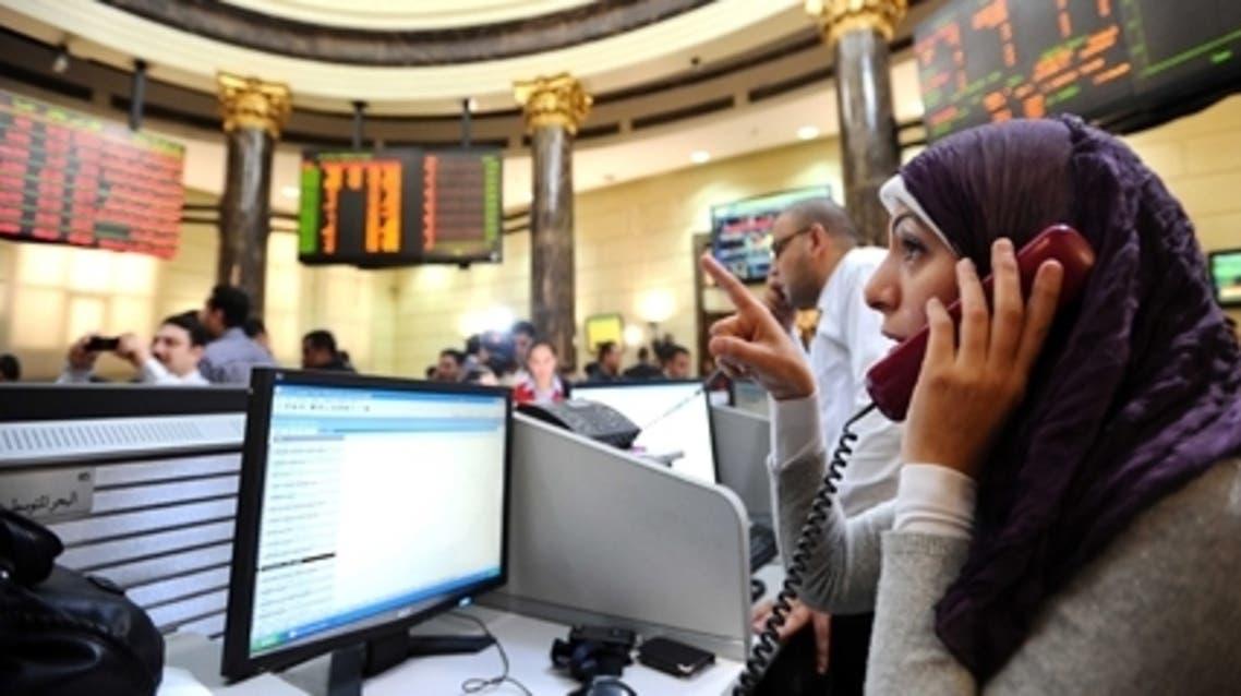 سماسرة في بورصة مصر