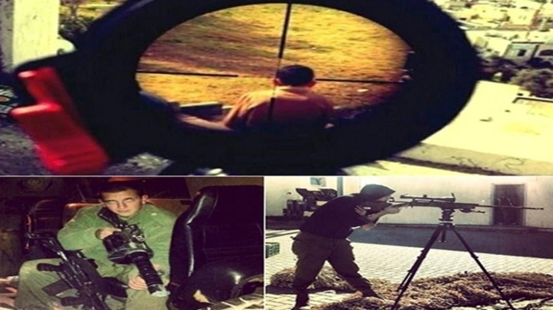 Israeli soldier Mor Ostrovski posted an image on Instagram