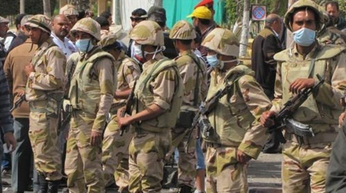 قوات الجيش تحيط بمديرية أمن بور سعيد