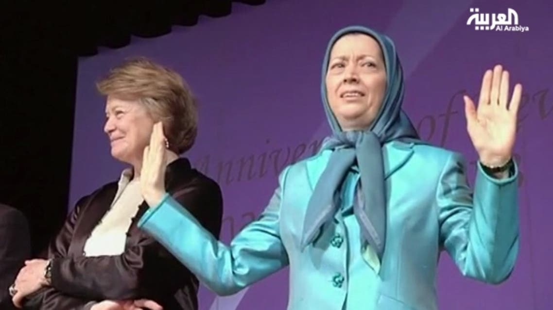 """National Council of Resistance of Iran president Maryam Rajavi said """"Iran is on the eve of a great leap forward, a change to end this morbid period of dictatorship."""" (Al Arabiya)"""
